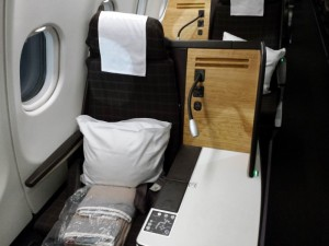 New Business Class seats on Swiss A330-300