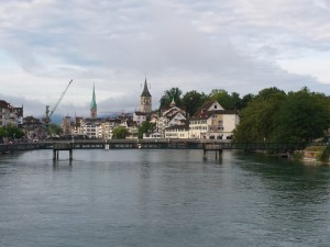 Zurich, great for a long layover